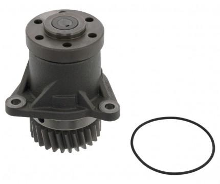 Приводной механизм ремней вентилятора/генератора с/у  D12A,C,D кабина поднята