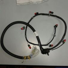 Коса насос-форсунок D12 A,C,D с/у герметизация (кабина поднята, клапанная крышка снята)