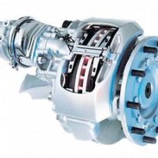 Суппорт (дисковый тормоз) с/у замена р/к направляющих вкл. с/у колеса (п/м тягач или прицеп)