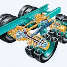 Подшипники и сальник ступицы замена з/м  включая с/у колес, бортовой и ступицы
